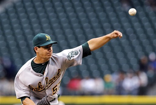 A's rookie Milone beats Mariners 1-0 for 8th win