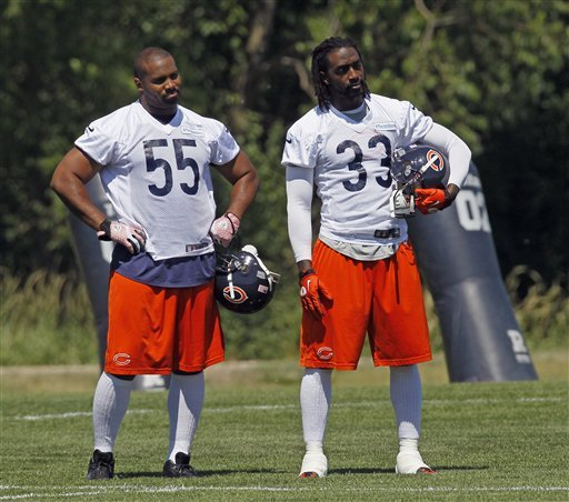 Briggs: Bears could have best team he's played on