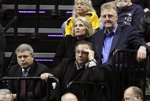 Pacers part ways with Larry Bird