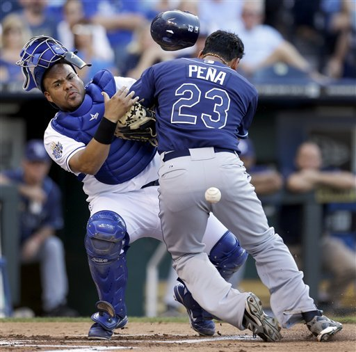 Chen goes 7 innings as Royals pound Rays 8-2