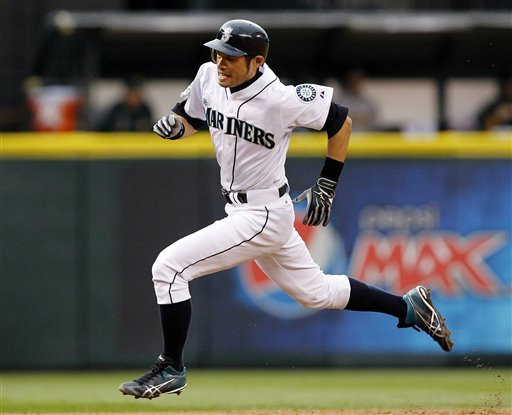 Ichiro Suzuki was problematic for foes at the plate and on the basepath. (AP)