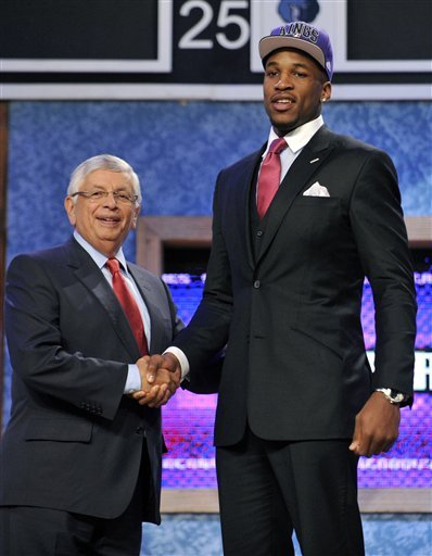Kings take Thomas Robinson 5th overall