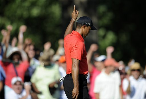 How many career wins for Tiger Woods? A lot