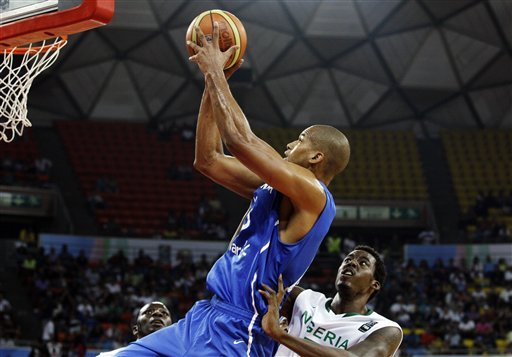 Nigeria takes final Olympic basketball spot