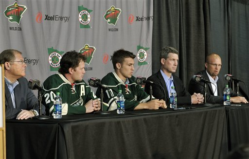 Parise, Suter could make Minnesota the place to be
