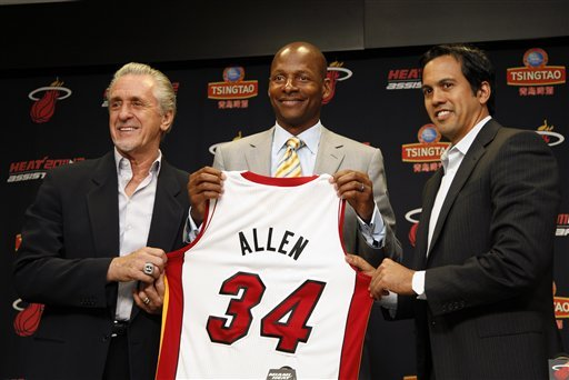 Allen eyes a new chapter in Miami