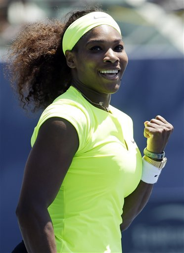 Serena Williams says her back needs a rest