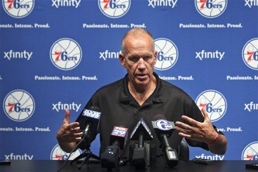 76ers coach Collins likes new-look roster