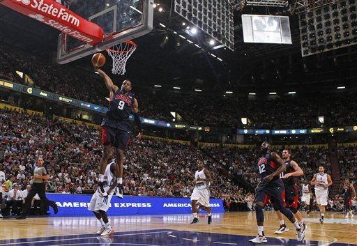 US men's basketball team to play Argentina, Spain