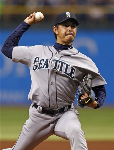 For Hisashi Iwakuma, his recent 13-K outing speaks loudly. (AP)