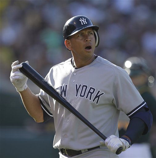 Alex Rodriguez will be paid more than $20 million a year through age 42. (AP)