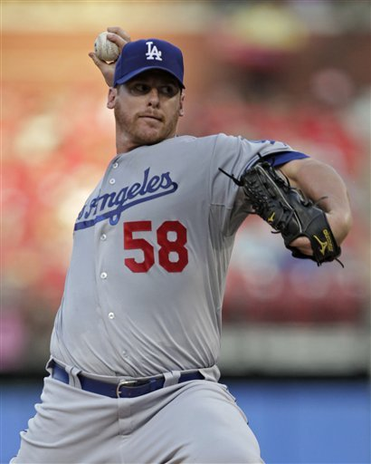Billingsley strong, Dodgers beat Cardinals 5-3