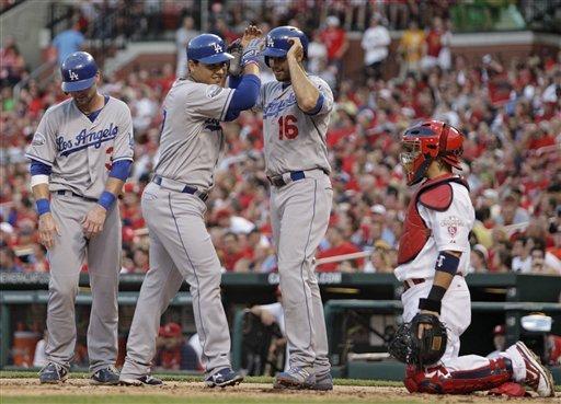 Billingsley strong, Dodgers beat Cardinals 5-3