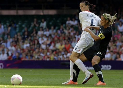 Britain beats New Zealand 1-0 in women's football