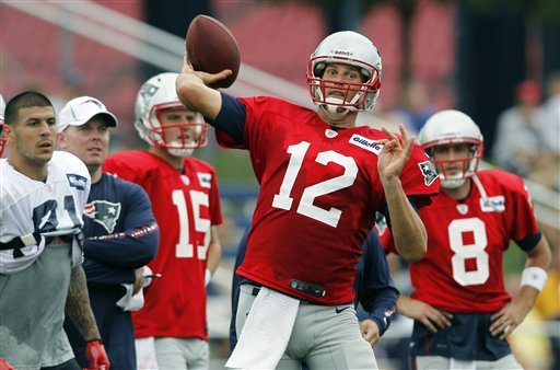 Brady confident at Patriots training camp