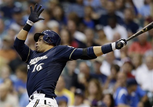 Ramirez, Hart homer as Brewers pound Astros 10-1