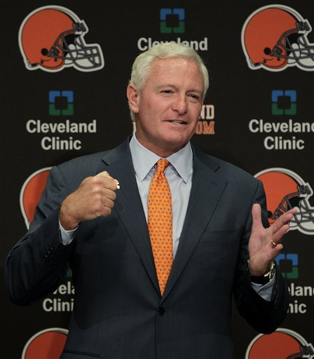 New Browns owner wants a winner in Cleveland