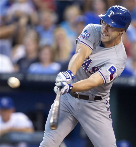 Harrison, Moreland lead Rangers over Royals