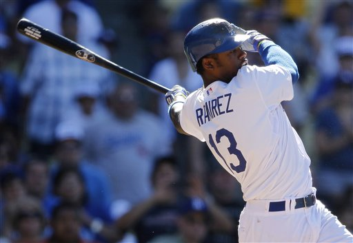 Ramirez singles to give Dodgers 7-6 win over Cubs