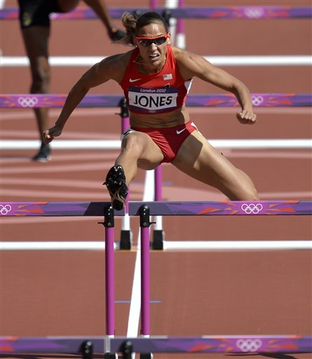 Harper, Jones, Pearson advance in Olympic hurdles