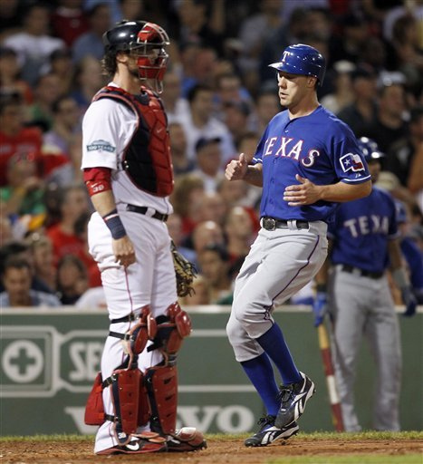 Dempster rebounds in Rangers' 6-3 win over Red Sox