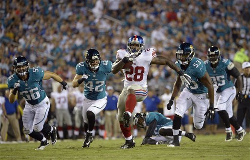 Ware looking to keep role as Giants backup RB