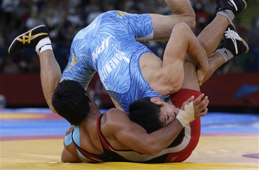 Wrestling will be dropped from Olympic competition after the 2016 Games. (AP)