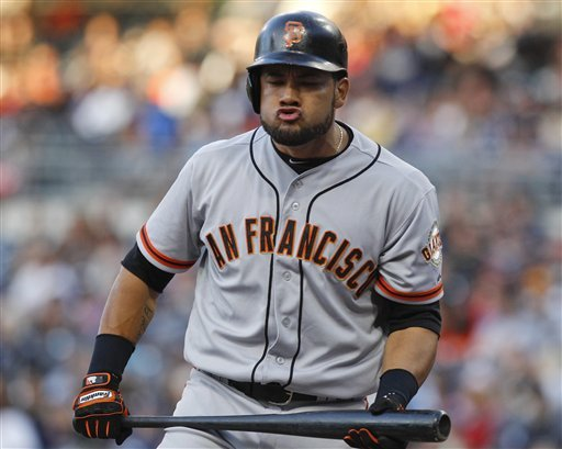 Giants' Cabrera suspended for positive drug test