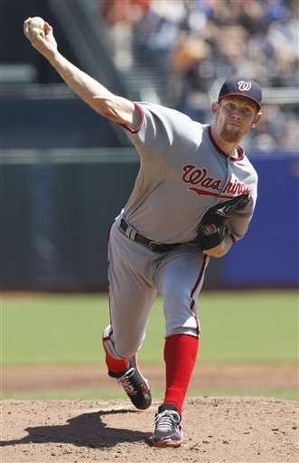 Stephen Strasburg should top the list of fantasy arms for '13. (AP)
