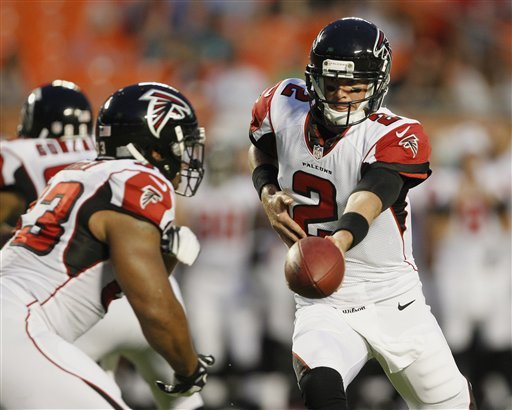 Ryan helps Falcons beat Dolphins 23-6