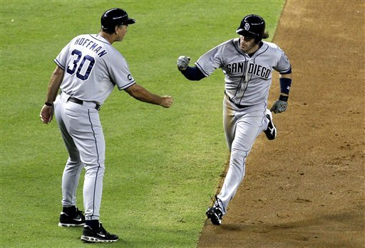 Stults pitches, hits Padres to win over D-backs