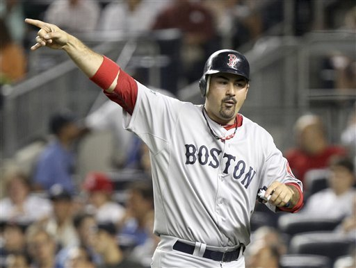 BoSox send Gonzalez, Beckett, Crawford to Dodgers