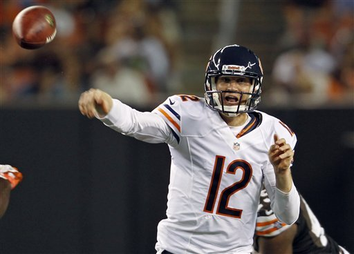 Backup QBs McCown, Rosenfels, Hoyer, Wallace cut