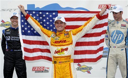 Power and Hunter-Reay go down to the wire