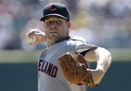 Kluber gets first win as Indians edge Tigers 3-2