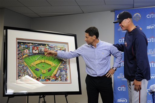 Chipper Jones honored on last trip to Mets park