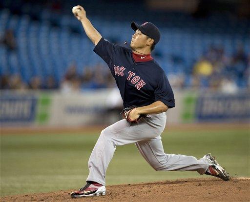 Gomez drives in go-ahead run, Red Sox beat Toronto
