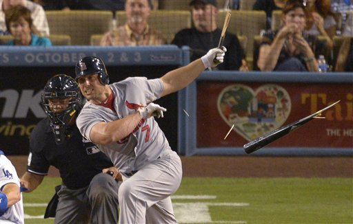 Cruz's go-ahead 3-run HR lifts Dodgers over Cards