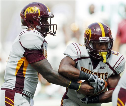 Johnson lifts Miami over Bethune-Cookman 38-10