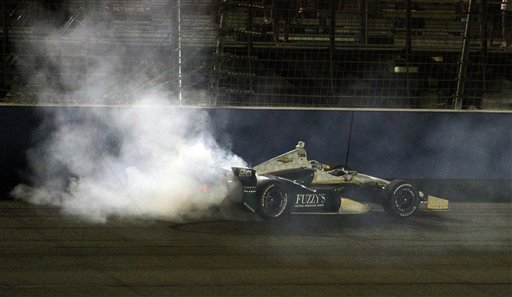 Hunter-Reay wins IndyCar title after Power crash