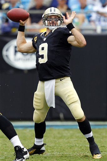 Brees says he needs to improve to lift Saints