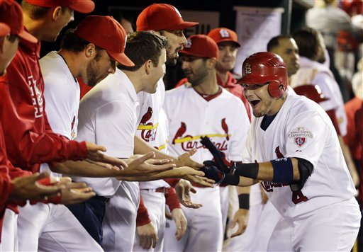 Freese, Molina power Cards to 5-0 win over Astros