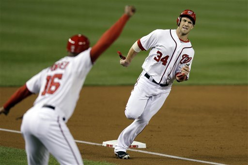Nationals clinch postseason slot, beat Dodgers