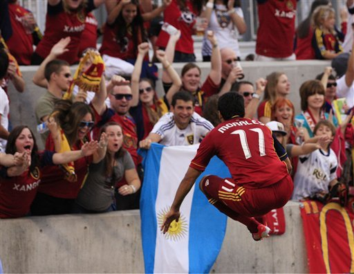 Morales, Espindola get Real Salt Lake past Timbers