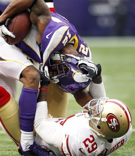 After rocky summer, Harvin delivers for Vikings