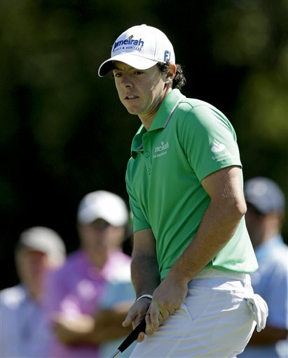Rory McIlroy finished second in the FedEx Cuop playoffs. (AP)