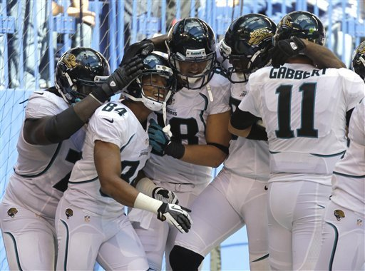 Jaguars stun Colts with 80-yard TD for 22-17 win