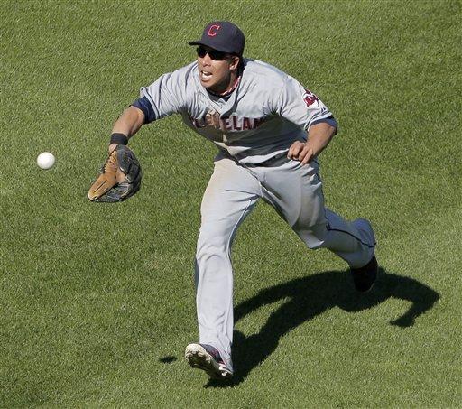 Santana's 2 HRs, 5 RBIs lead Indians over Royals