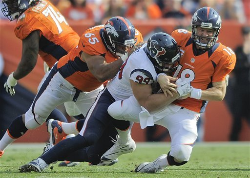 Broncos receivers still adjusting to Manning
