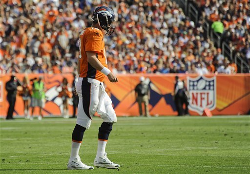 Incomplete passes hold back Broncos this time